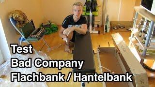 Test Bad Company BCA-30 Flachbank | Hantelbank Test | Hantelbank billig | Hantelbank günstig