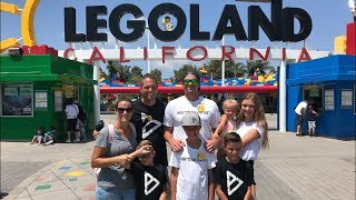CELEBRATING BIRTHDAY AT LEGOLAND WITH ONE HUGE SURPRISE | THE BIRTHDAY BOY HAD NO IDEA!