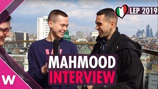 Mahmood (Italy 2019)   London Eurovision Party INTERVIEW