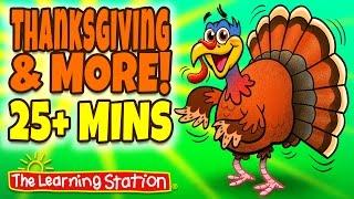 Thanksgiving Songs for Children - Thanksgiving Songs Playlist for Kids