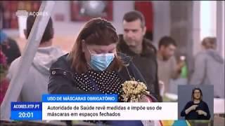 Autoridade de Saúde Regional impõe uso de máscaras em espaços fechados