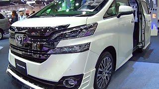 Toyota Vellfire 2017, 2016 Video review New Generation, Toyota Luxury VANs