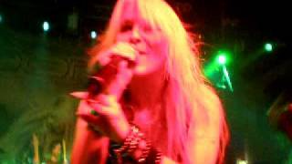 Doro live at Göta Källare in Stockholm 2009 - Burning the witches