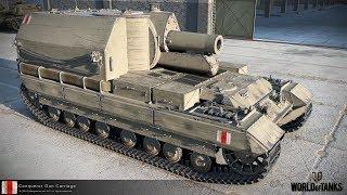 ЛУЧШИЕ РЕПЛЕИ НЕДЕЛИ: Conqueror Gun Carriage - Смертельный сарай 6800+ УРОНА [World Of Tanks]