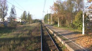 preview picture of video 'KOLEJWIZJAinfo - EN57 Trasa POZNAŃ-PIŁA 1/3 - Przejazd w kabinie - Cab Ride - Fahrt Kabine'
