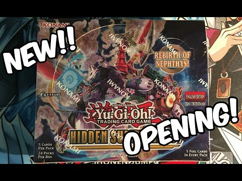 YuGiOh Hidden Summoners Booster Box Opening! NEW!!