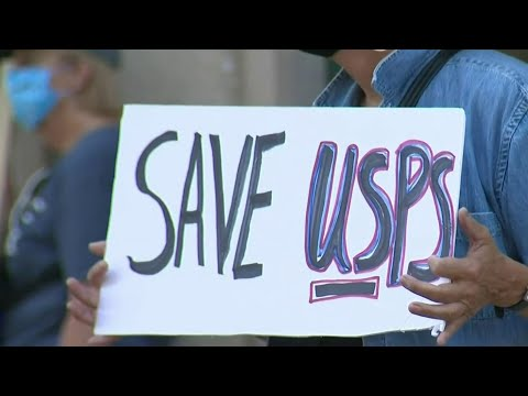 Protesters demand USPS protection, postmaster's resignation amid national concerns