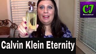 Calvin Klein Eternity Perfume Review | Chrissi Jadeheart