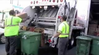 Recology SF Chinatown Evening Compost Autocar Leach RL