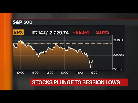 Why the U.S. Stock Market Is Still Tumbling