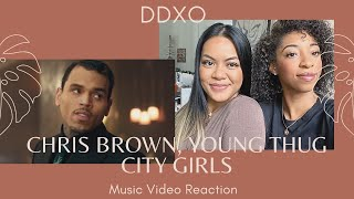 Chris Brown, Young Thug - City Girls Official Music Video REACTION