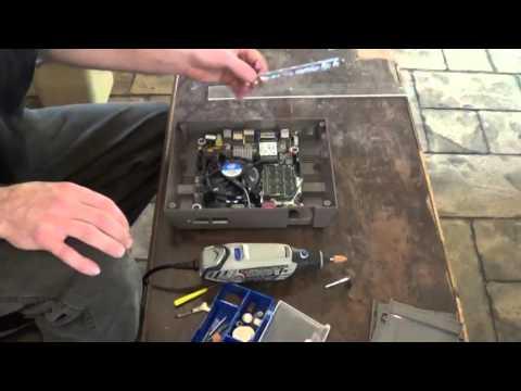 HTPC inside NES case build (part 3)