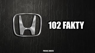 HONDA – 102 FAKTY