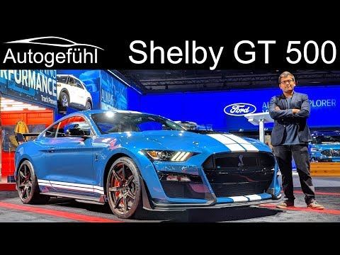 New Shelby GT 500 the ultimate Ford Mustang - Sound & Exterior REVIEW
