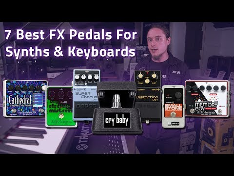 7 Best Effects Pedals For Synths & Keyboards ft. Electro Harmonix, BOSS & Jim Dunlop!