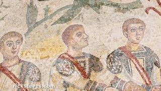 Thumbnail of the video 'The Roman Villa of Casale: Ancient Mosaics in Sicily'