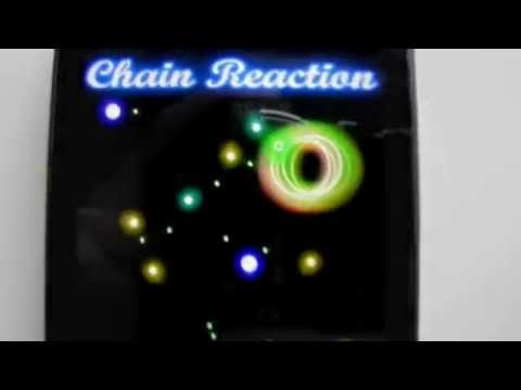 Video of Glow Chain Reaction