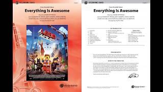 Everything Is Awesome Awesome Remixxx Concert Band Conductor Score Parts Joshua Bartholomew