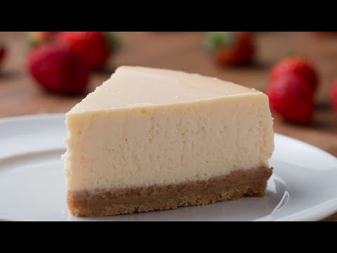 O melhor cheesecake tradicional
