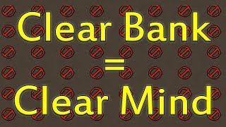 How To Organize Your Messy Bank In Old School Runescape!!