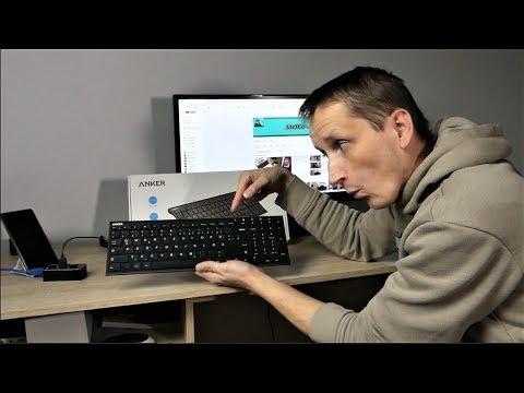 Wireless Keybord und Maus Combo von Anker - Meine neue Tastatur