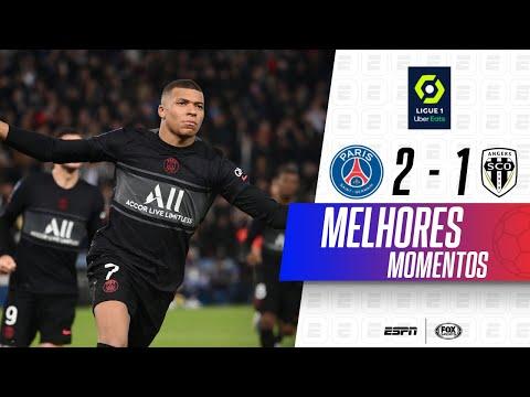 MBAPPÉ DÁ SHOW, MARCA E DÁ ASSISTÊNCIA   Melhores momentos de PSG 2 x 1 Angers no Campeonato Francês
