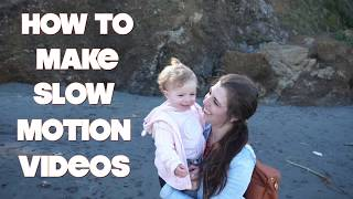 HOW TO MAKE SMOOTH SLOW MOTION VIDEOS