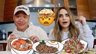 Muk Bang: Blowing Rosanna Pansino's Mind with Thai Food #ETN4