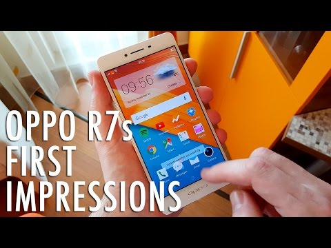 OPPO R7s Unboxing and First Impressions: A Pleasant Surprise