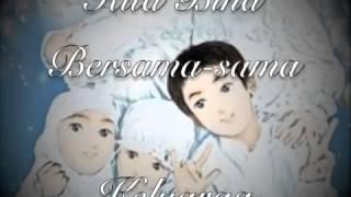Keluarga Bahagia ~Saujana~ Piano Cover with Lyrics.