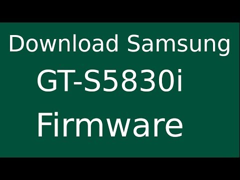 How to Samsung Galaxy Ace GT-S5830i Firmware Update (Fix ROM