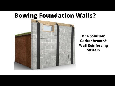 How To Fix Bowing Basement Walls | Follow Us Along | CarbonArmor | Healthy Basement Systems