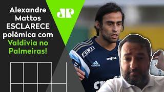Mattos esclarece polêmica com Valdivia no Palmeiras: 'Isso não é verdade'