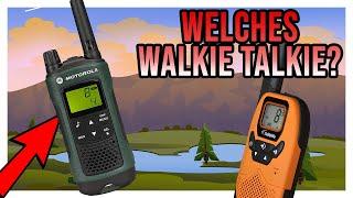 Walkie Talkie TEST - TOP 5 FUNKGERÄTE Vergleich - Welches kaufen?