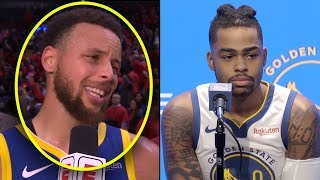 """Stephen Curry Tells Dlo """"You Will Be TRADED If You Can't Score..."""" & D'angelo Russell Is NOT HAPPY."""