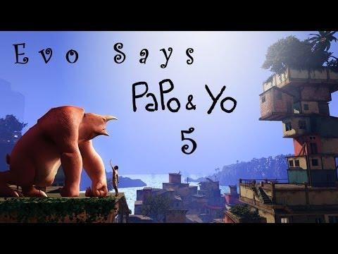 ❀ Прохождение Papo & Yo ❀ - 5 part - Защитничек