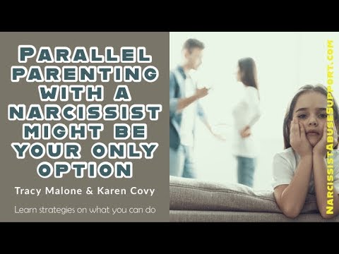Impossible Co-Parenting with a Narcissist - Solution Parallel Parenting – Karen Covy