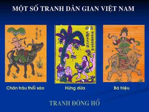 Mĩ thuật 6: Bài 19: Tranh dân gian Việt Nam