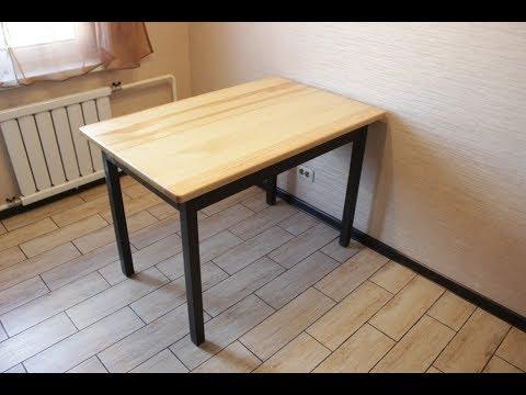 Реставрация кухонного стола.