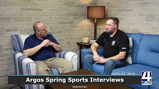 Argos Coaches Interviews - 3-27-19