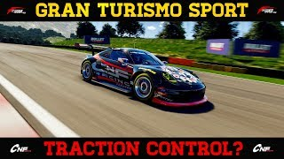 GT Sport - Traction Control Comparison (TCS VS NO TCS)