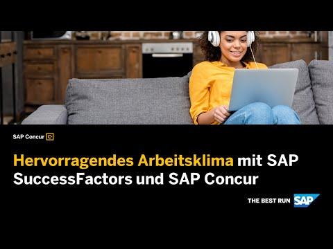 SAP SuccessFactors: Für ein besseres Mitarbeitererlebnis - YouTube