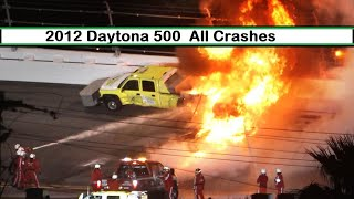 All NASCAR Crashes From The 2012 Daytona 500