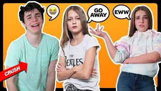 BEING MEAN To My CRUSH To See How He Would React PRANK **GONE WRONG**  Sophie Fergi