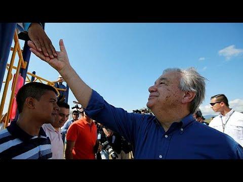 «Η ειρήνη φέρνει ευημερία» το μήνυμα Γκουτέρες στους Κολομβιανούς…