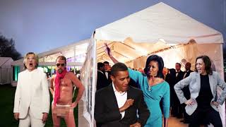BREAKING: First leaked video from inside Obama's Birthday party...🤣🤣🤣