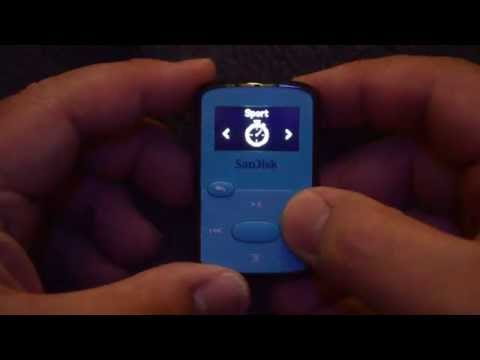 SanDisk Clip Jam 8GB MP3 Player (Blue)