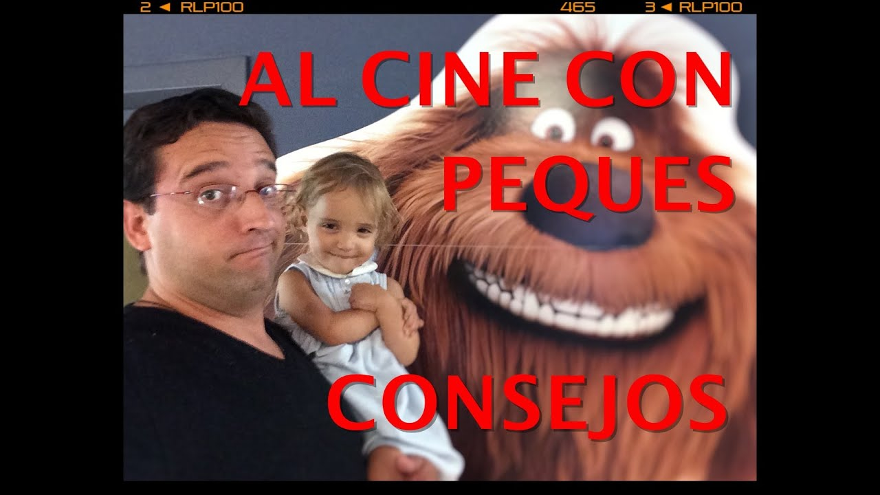 AL CINE CON PEQUES - CONSEJOS