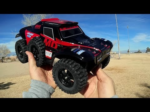WLToys 124012 4WD RC KEEPOWER Desert Buggy Car Test Drive Review