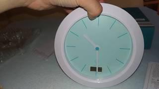 Funkuhr mit Temperatur Anzeige